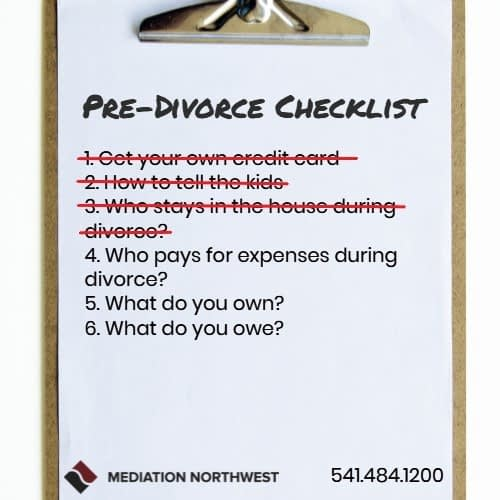 who pays expenses of divorce