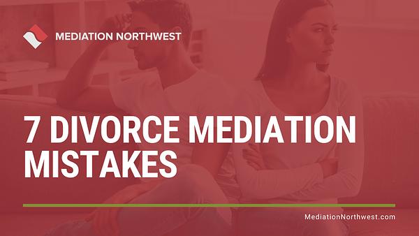 Divorce Mediation Mistakes - Julie Gentili Armbrust - eugene oregon divorce mediation