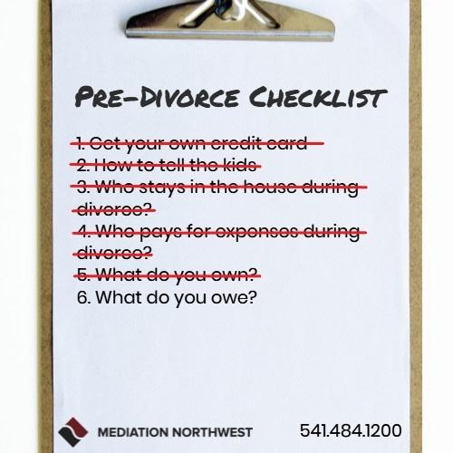 How to determine your debts in a divorce